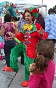 rabbie the clown