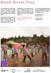 playground consultation poster