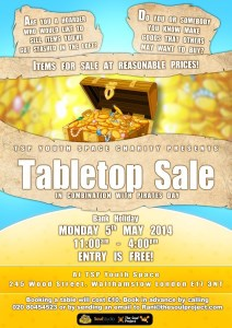 Table Top Sale poster