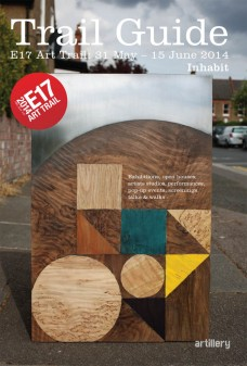 E17 Art Trail Guide cover