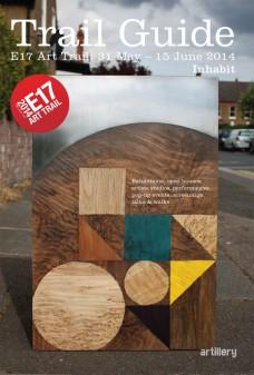 E17 Art Trail Guide cover
