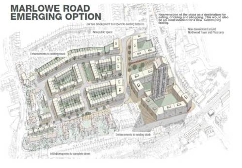 Marlowe Road concept drawing