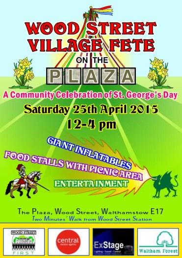 Village Fete poster