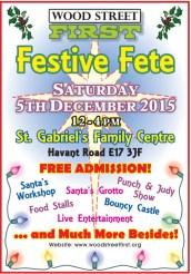 Festive Fete poster