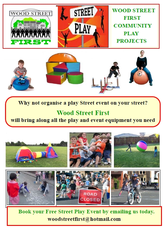 Street play poster
